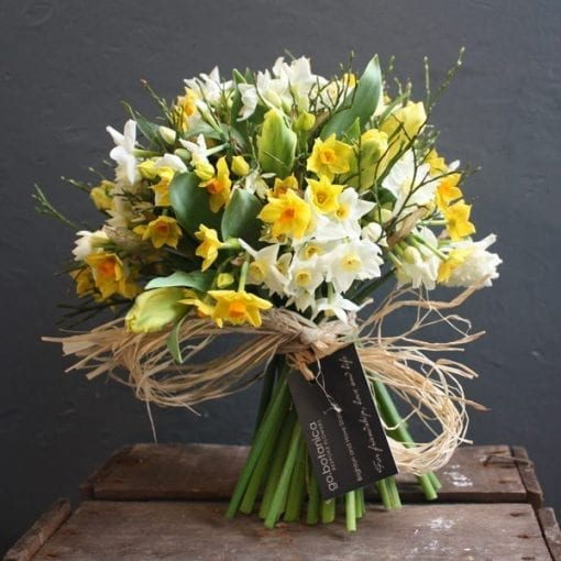 Scented Narcissi and Tulip Bouquet